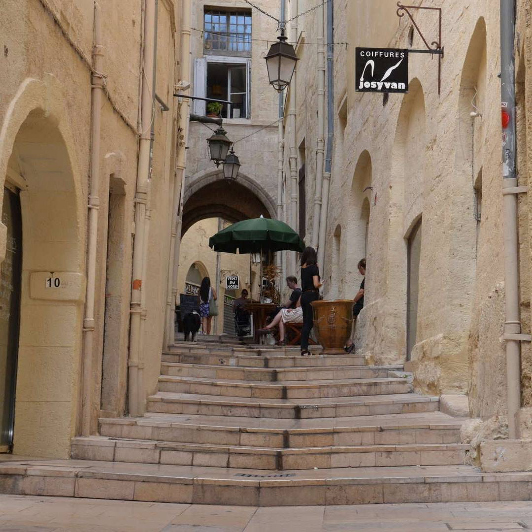 Rue du bras de fer Montpellier - AEF Homestay in France