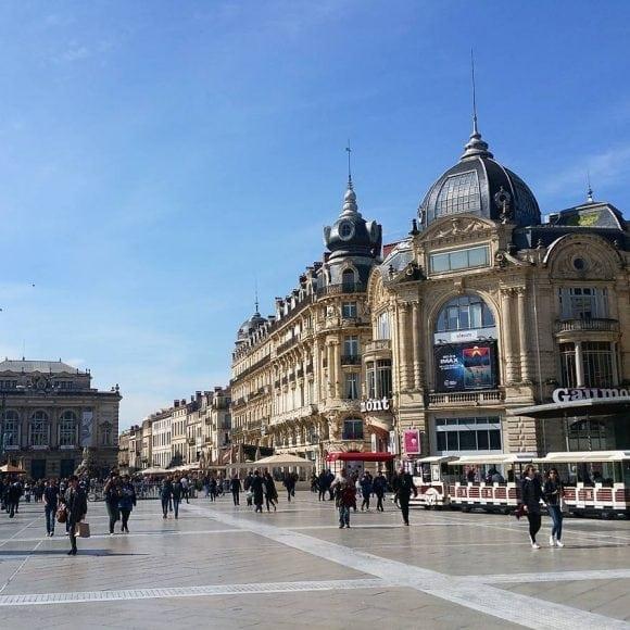 Place de la Comédie - aef homestay in Montpellier