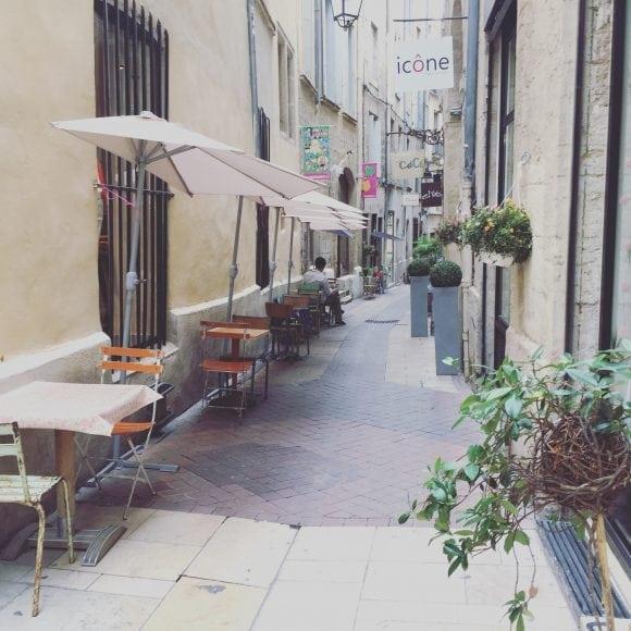 street in Montpellier - homestay in France