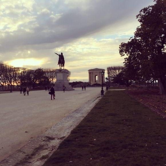 Place du Peyrou - AEF homestay in Montpellier