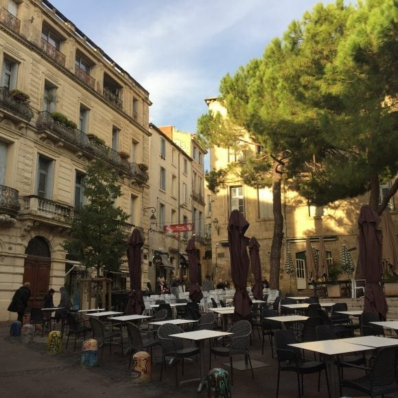 place st roch - aef homestay in Montpellier